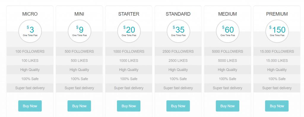 social shop review - pricing