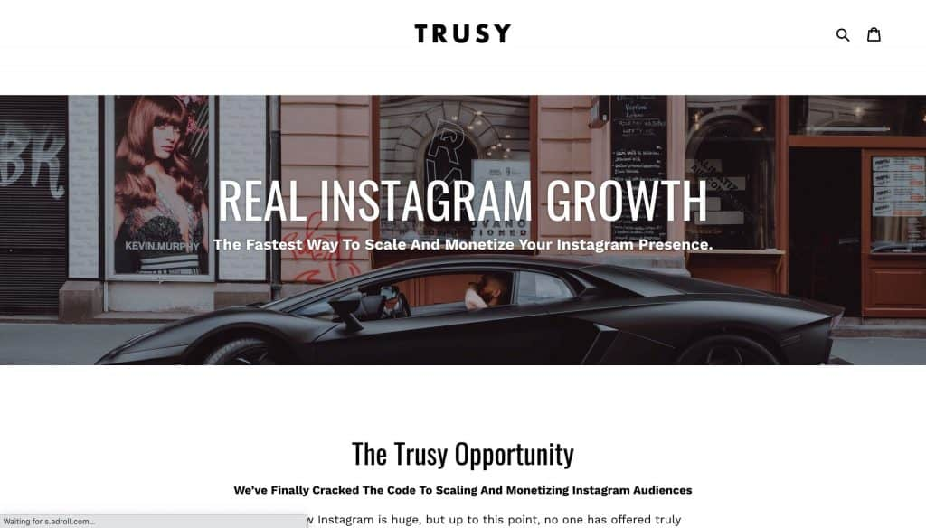instagram growth services - trusy social