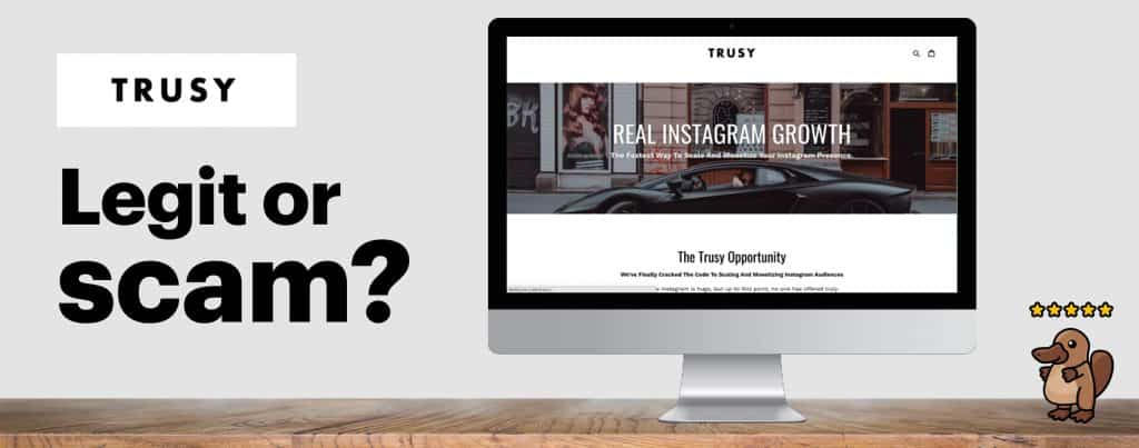 featured image depicting trusy social website
