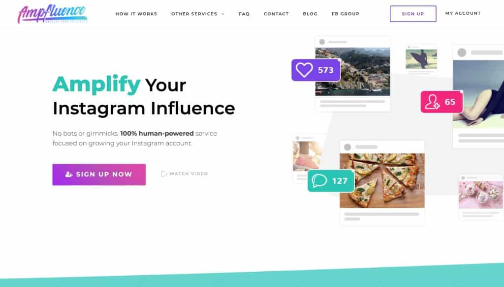 instagram growth services - ampinfluence