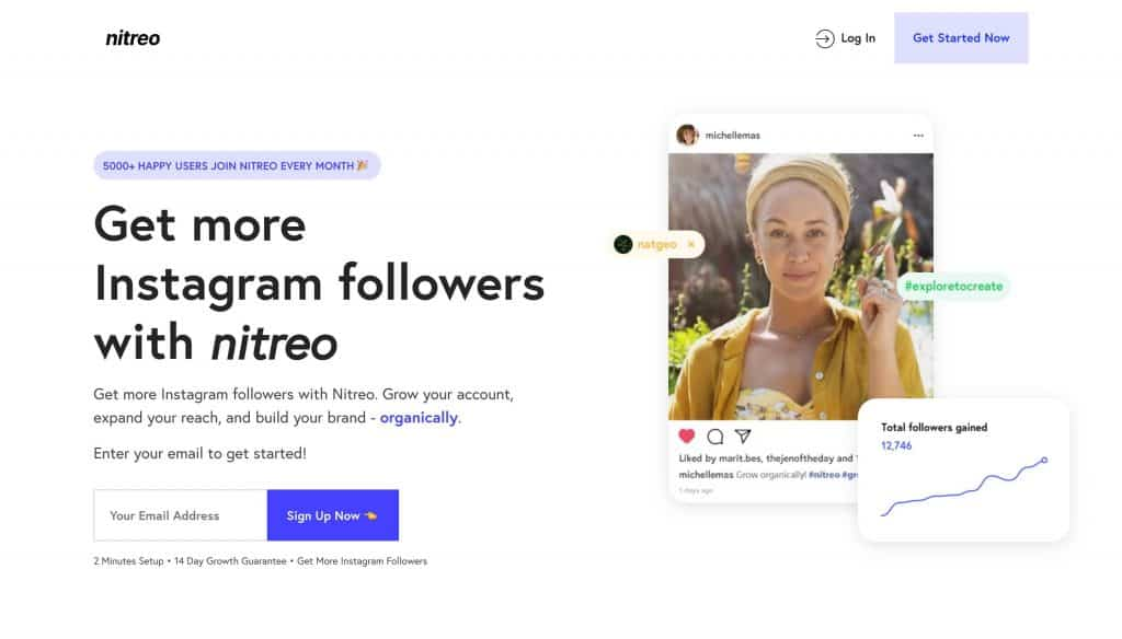 instagram growth services - nitreo